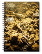 Seaside Of Creative Charms Spiral Notebook