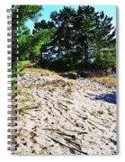 Seaside Path Spiral Notebook