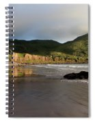 Seaside Reflections, County Kerry, Ireland Spiral Notebook