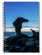Seaside Rock Formations At Daybreak Spiral Notebook
