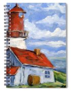 Seaside Sentinal Spiral Notebook