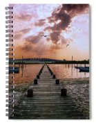 Seaside Spiral Notebook