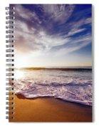 Seaside Sunset Spiral Notebook