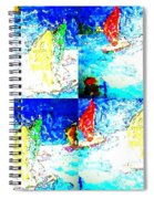 Seaside-regatta Spiral Notebook