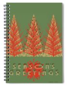 Season' Greetings 1 Spiral Notebook