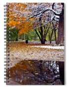 Seasons Changing Spiral Notebook