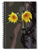 Seasons Ending Spiral Notebook