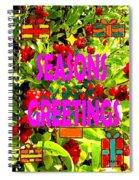 Seasons Greetings 10 Spiral Notebook