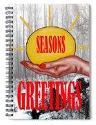 Seasons Greetings 31 Spiral Notebook