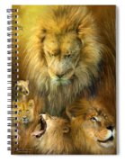 Seasons Of The Lion Spiral Notebook