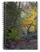 Romantic Autumn Rendezvous Spiral Notebook