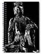Seated Buddha Spiral Notebook