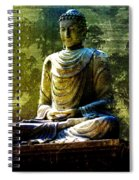 Seated Buddha Spiral Notebook