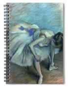 Seated Dancer Spiral Notebook