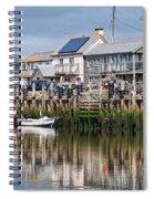 Seaton Harbour - Devon Spiral Notebook