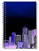 Seattle Blue 2 Spiral Notebook