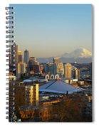 Seattle Cityscape Spiral Notebook