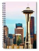 Seattle Daylight Spiral Notebook