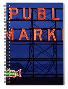 Seattle Glow Spiral Notebook