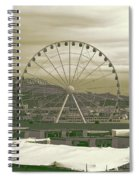Seattle Great Wheel And Pier 57 Spiral Notebook