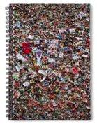 Seattle Gum Wall #2 Spiral Notebook