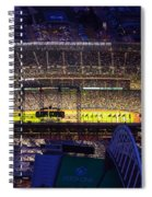 Seattle Mariners Safeco Field Night Game Spiral Notebook