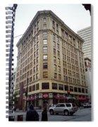 Seattle - Misty Architecture Spiral Notebook