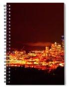 Seattle Night Traffic Too Spiral Notebook