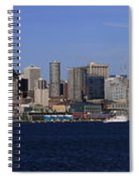 Seattle Panoramic Spiral Notebook