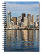 Seattle Reflection Spiral Notebook