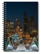 Seattle Seahawks Where The Magic Happens Spiral Notebook