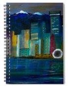 Seattle Skyiline Spiral Notebook