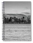 Seattle Skyline 3 Spiral Notebook