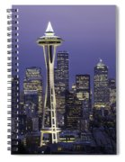 Seattle Space Needle 0200 Spiral Notebook