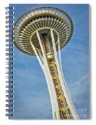 Seattle Space Needle Spiral Notebook