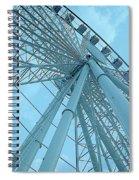 Seattle Wheel Spiral Notebook