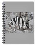 Seawall Art Spiral Notebook