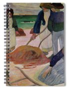 Seaweed Gatherers Spiral Notebook