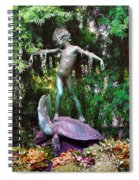 Seaweed Girl Spiral Notebook