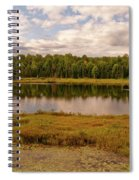 Secluded Lake Spiral Notebook
