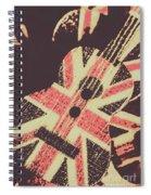 Second British Invasion Spiral Notebook