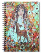Second Chakra  Angel A Supernova Who Grew Up To Be Stardust Spiral Notebook
