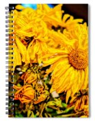 Flowers - Second Life Spiral Notebook