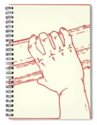 Second Station- Jesus Is Made To Carry His Cross Spiral Notebook