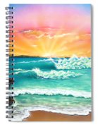 Secret Beach Spiral Notebook
