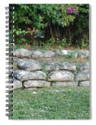 Secret Block Wall Spiral Notebook