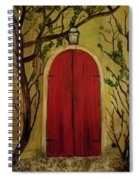 Secret Door Spiral Notebook