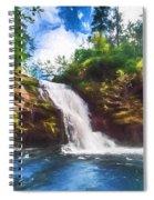 Secret Falls Spiral Notebook