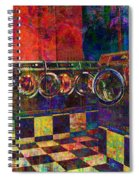 Secret Life Of Laundromats Spiral Notebook