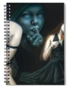 Secrets Make You Sick Spiral Notebook